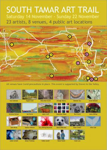South Tamar Art Trail poster